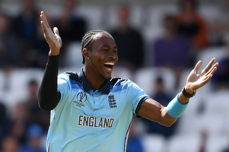 England's Jofra Archer has taken 15 wickets at the World Cup (AFP Photo/Dibyangshu SARKAR)