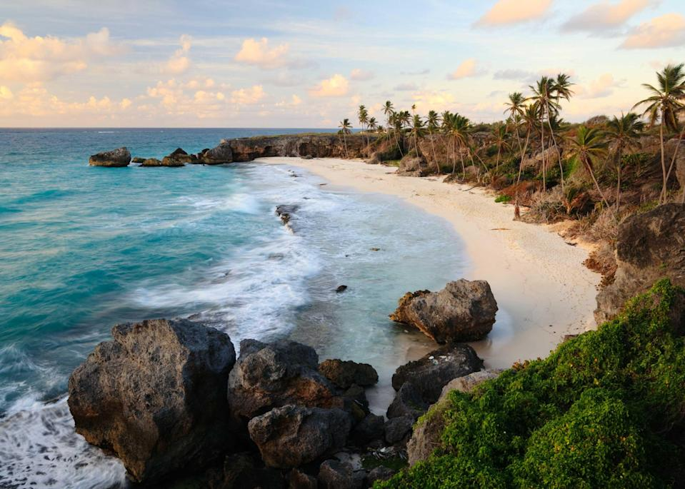 """Retreating to an island, with the ability to hole up in seclusion, has never been more appealing. <a href=""""https://www.cntraveler.com/story/a-road-trip-through-barbados-shows-off-the-islands-wilder-side?mbid=synd_yahoo_rss"""" rel=""""nofollow noopener"""" target=""""_blank"""" data-ylk=""""slk:Barbados"""" class=""""link rapid-noclick-resp"""">Barbados</a> is one of the best all-around options in the Caribbean for a jolt of winter sun: an average of nine hours of sunshine every day, with barely any rainfall (under two inches for the entire month of February, usually). This month also sees the Holetown festival, a week-long bash that typically includes performances by Bajan gospel singers and tuk bands, as well as parades, street food stalls, and craft markets. The island nation's deft handling of the pandemic has bolstered its long-term appeal, underscoring the strong infrastructure and government. Many of Barbados's luxury <a href=""""https://www.visitbarbados.org/covid-19-travel-guidelines-2020"""" rel=""""nofollow noopener"""" target=""""_blank"""" data-ylk=""""slk:properties"""" class=""""link rapid-noclick-resp"""">properties</a>, like <a href=""""https://www.cntraveler.com/hotels/barbados/st-philip/the-crane?mbid=synd_yahoo_rss"""" rel=""""nofollow noopener"""" target=""""_blank"""" data-ylk=""""slk:The Crane"""" class=""""link rapid-noclick-resp"""">The Crane</a>, have been reworked and designated as quarantine-appropriate facilities for travelers. The island is also requiring a negative test from all visitors, as well as quarantine until a second test comes back negative."""