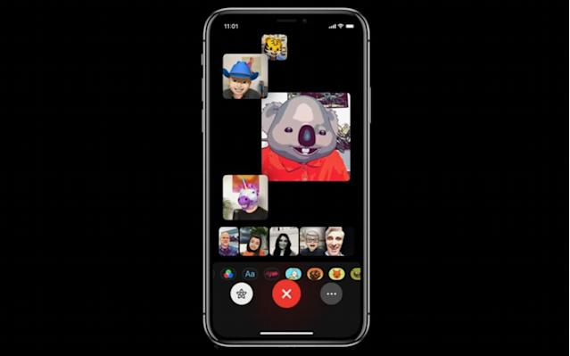 Meet Group FaceTime, which lets up to 30 people participate in one video chat.