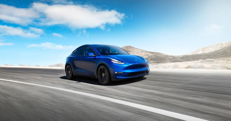 Tesla just unveiled the Model Y, its new crossover SUV, starting at $39,000