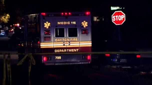 PHOTO: First responders at the scene of a police shooting in Dayton, Ohio, Nov. 4, 2019. (WKEF)
