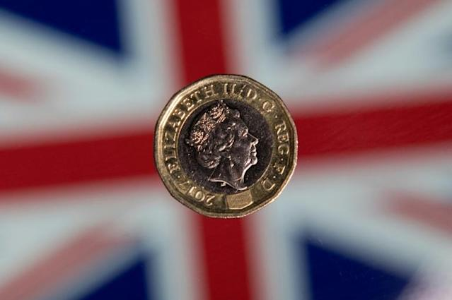 The pound sterling remained steady in Asia trading as a conclusion to the Brexit drama has yet to be reached (AFP Photo/Justin TALLIS)