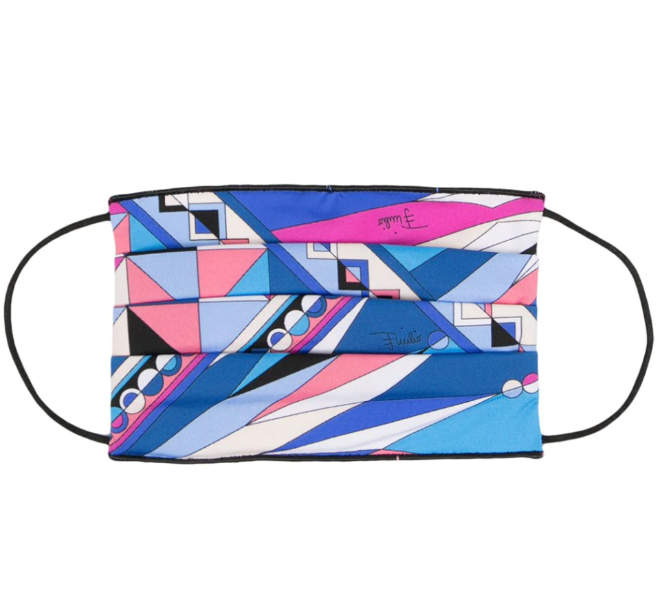 Emilio Pucci Abstract Print Face Mask (Photo via Farfetch)