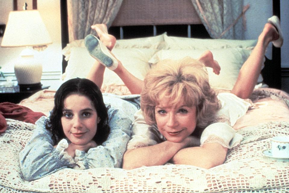 """<p>Do not turn on <em>Terms of Endearment</em>—a movie about the complicated, frustrating, and yet everlasting bond between a mother (Shirley MacLaine) and daughter (Debra Winger)—unless you're ready for a cathartic cry.</p> <p><em>Available to rent on</em> <a href=""""https://www.amazon.com/Terms-Endearment-Debra-Winger/dp/B0012UHSDY"""" rel=""""nofollow noopener"""" target=""""_blank"""" data-ylk=""""slk:Amazon Prime Video"""" class=""""link rapid-noclick-resp""""><em>Amazon Prime Video</em></a><em>.</em></p>"""