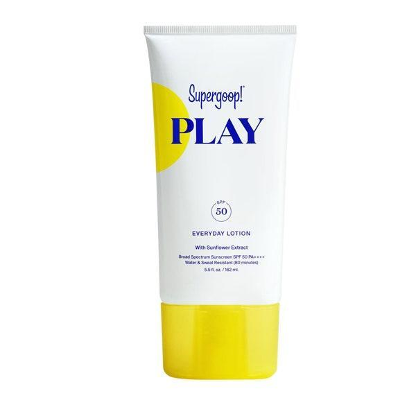 """<p><strong>Chantal Waldholz, Director of Audience Development & Analytics</strong></p> <p>It's <em>super</em> light, hydrates my skin, smells good (unlike many other sunscreens), and maybe it's in my head, but I feel like it gives me a little extra glow.</p> $22, Dermstore. <a href=""""https://shop-links.co/1738498629931729175"""" rel=""""nofollow noopener"""" target=""""_blank"""" data-ylk=""""slk:Get it now!"""" class=""""link rapid-noclick-resp"""">Get it now!</a>"""