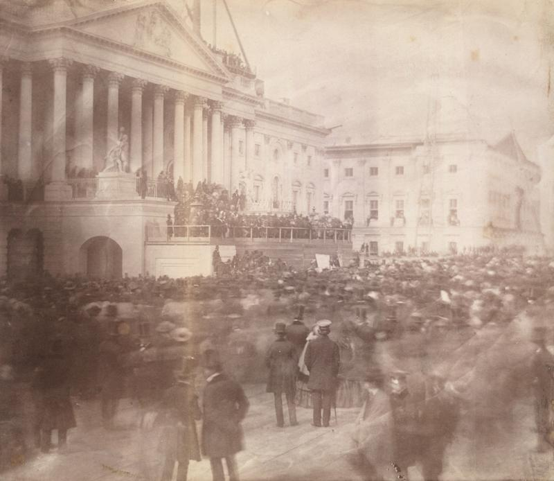This Is the First Known Photograph Ever Taken at a Presidential Inauguration