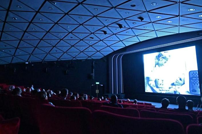 Cinemas were among the entertainment venues reopening on Monday