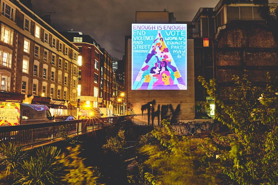 'Enough is Enough': Projections on London landmarksEsther Lalanne / George Torode / WEP