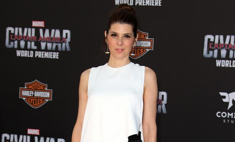 Marisa Tomei, the 'sexy Aunt May' of the Marvel Cinematic Universe (credit: WENN)