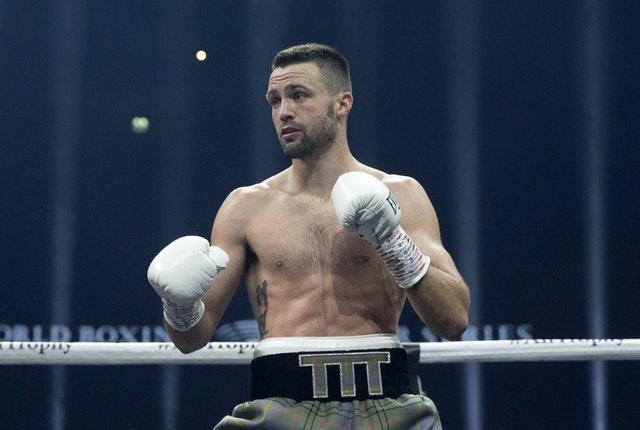 The bout was Josh Taylor's first in 11 months