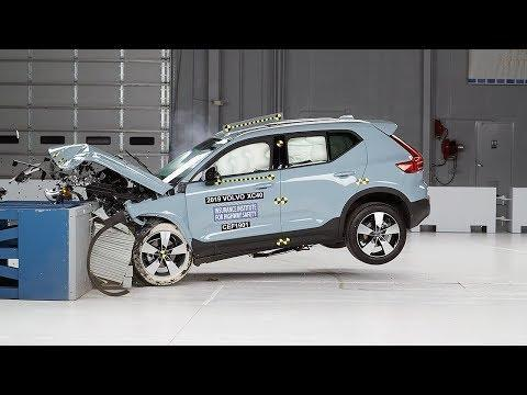 """<p>Volvo took its crash safety to new heights when it dropped 10 of its cars from 100 feet in the air. We hope you never find yourself in such a situation, but the whole point was to highlight how safe their lineup is. The <a href=""""https://www.caranddriver.com/volvo/xc40"""" rel=""""nofollow noopener"""" target=""""_blank"""" data-ylk=""""slk:Volvo XC40"""" class=""""link rapid-noclick-resp"""">Volvo XC40</a> is not only an IIHS Top Safety Pick+, it's also been given a five-star rating from NHTSA. The net of safety features included on every XC40 include automated emergency braking with pedestrian detection and lane-departure warning with lane-keeping assist. Adaptive cruise control with Volvo's semi-autonomous driving mode is also available. </p><p><a class=""""link rapid-noclick-resp"""" href=""""https://www.caranddriver.com/volvo/xc40"""" rel=""""nofollow noopener"""" target=""""_blank"""" data-ylk=""""slk:MORE XC40 INFO"""">MORE XC40 INFO</a></p><p><a href=""""https://www.youtube.com/watch?v=8230HRkRAWA"""" rel=""""nofollow noopener"""" target=""""_blank"""" data-ylk=""""slk:See the original post on Youtube"""" class=""""link rapid-noclick-resp"""">See the original post on Youtube</a></p>"""
