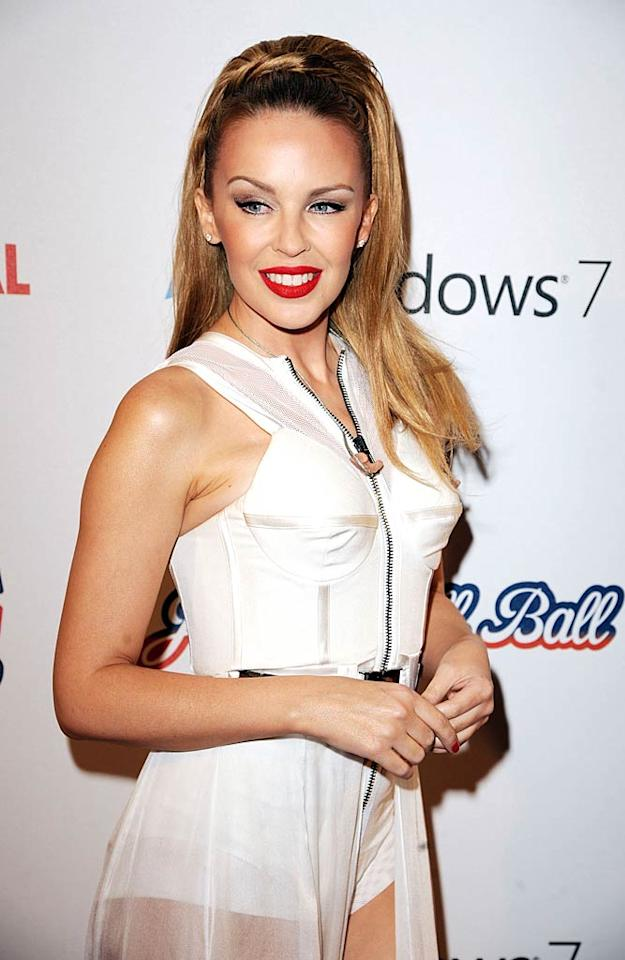 "Pop star Kylie Minogue is famous worldwide for her dance hits including ""Can't Get You Out of My Head"" and ""Spinning Around,"" but the singer and actress got her big break on the same show as a slew of other Aussie stars -- the nighttime soap ""Neighbours."" Eamonn McCormack/<a href=""http://www.wireimage.com"" target=""new"">WireImage.com</a> - December 5, 2010"