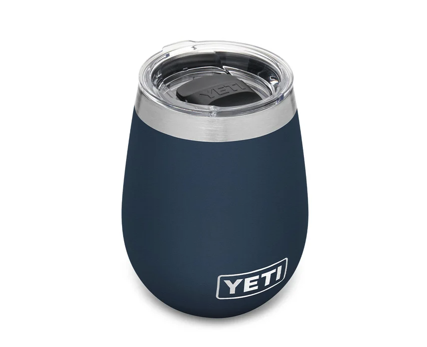 Rambler 295 mL Wine Tumbler With Magslider Lid. Image via Yeti.