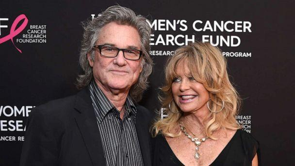 PHOTO: Kurt Russell and Goldie Hawn attend WCRF's 'An Unforgettable Evening' at the Beverly Wilshire Four Seasons Hotel, Feb. 28, 2019, in Beverly Hills, Calif. (Michael Kovac/Getty Images, FILE)