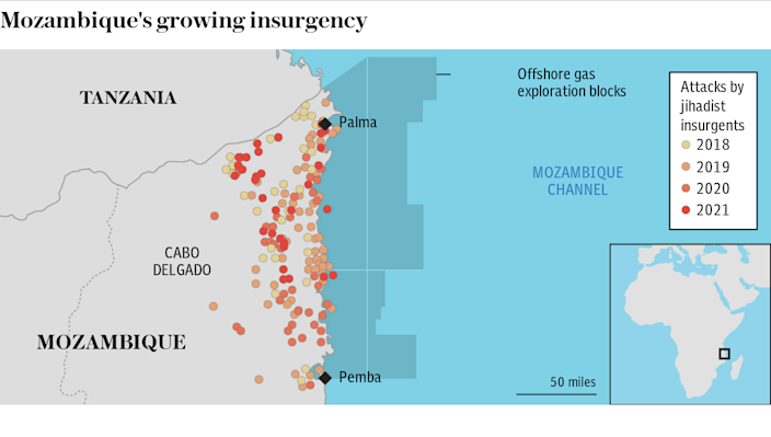 Mozambique's growing insurgency