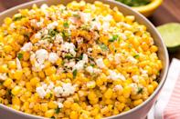 """<p>Whether you're making chicken, beef, or seafood for your main course, these sides got you. From the staples—guac, salsa, beans—to more filling additions like rice and elote, you'll be obsessed with these delicious Mexican side dishes. For more Mexican-inspired meals, check out these fun <a href=""""https://www.delish.com/holiday-recipes/cinco-de-mayo/g652/mexican-party-menu-recipes/"""" rel=""""nofollow noopener"""" target=""""_blank"""" data-ylk=""""slk:Cinco de Mayo party recipes"""" class=""""link rapid-noclick-resp"""">Cinco de Mayo party recipes</a>.</p>"""