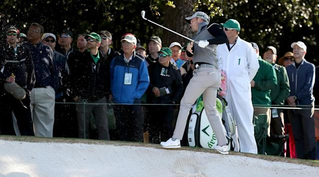 The first hole at Augusta National has not been kind to Danny Willett.