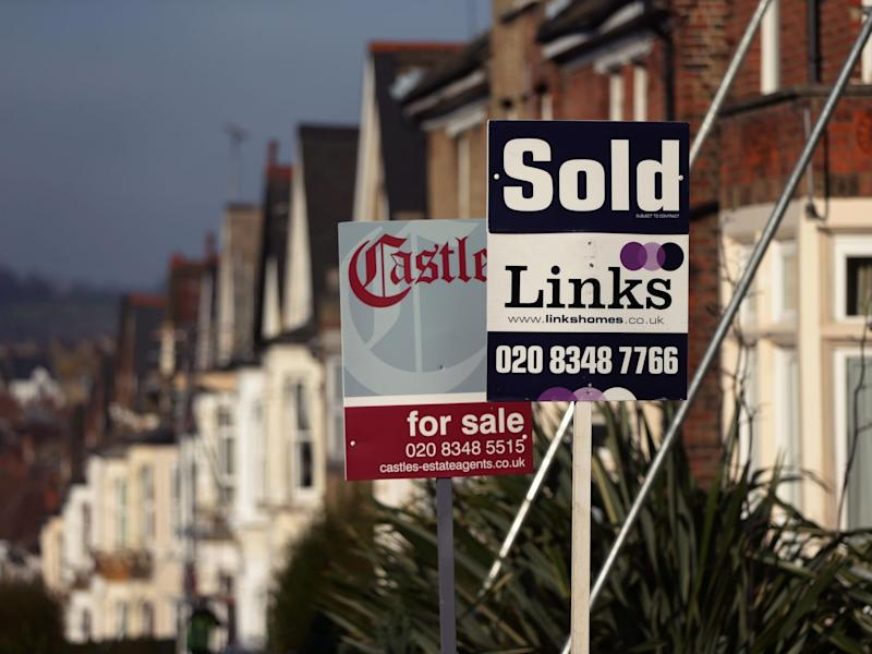 UK house prices rose sharply in early 2019, figures show