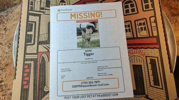 PHOTO: Rosalia Di Fede is also helping to reunite lost pets with their owners through her restaurant, La Forchetta in Stuart, Florida. (Angelo's Pizza)