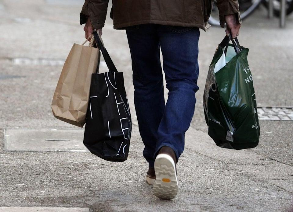 The change could affect New Year's Day shopping (Steve Parsons/PA) (PA Archive)