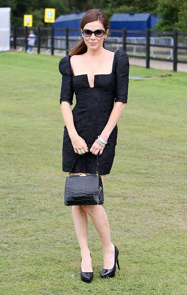 "And finally, Anna Friel. The former ""Pushing Daisies"" darling attended Cartier's International Polo Day in Egham, England, in an awesome Antonio Berardi LBD, which featured sculptured shoulders and a square-cut neckline. Chris Jackson/<a href=""http://www.gettyimages.com/"" target=""new"">GettyImages.com</a> - July 26, 2009"