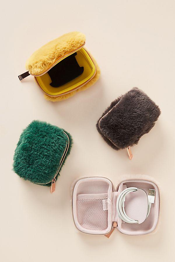 Faux-Fur Tech Pouch (Photo: Anthropologie)