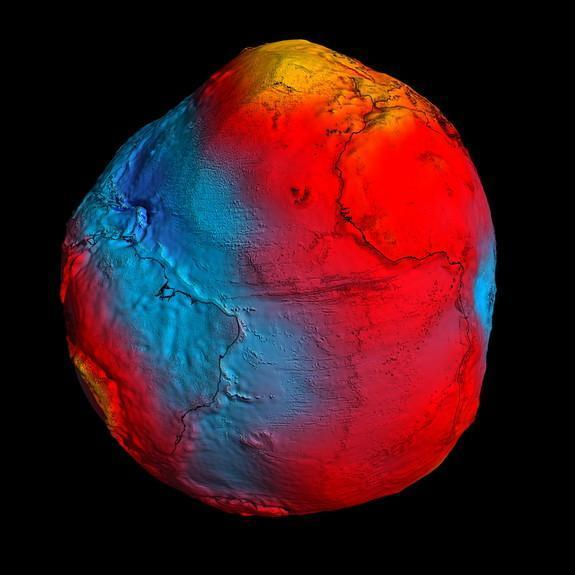 Gravity-Mapping Satellite Swoops In for Closer Look