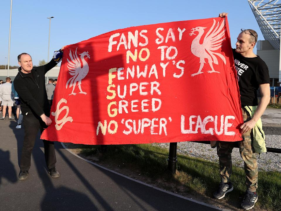 <p>The Champions League would be left behind by the major clubs</p> (Getty Images)