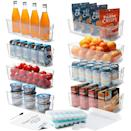<p>Keep your cabinets tidy and organized with this <span>16 Piece Stackable Fridge Organizer Bins Set</span> ($45). You can use it in your fridge and your pantry too!</p>