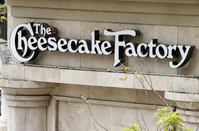 Earnings from The Cheesecake Factory will be a highlight for investors after the market close on Wednesday. REUTERS/Fred Prouser