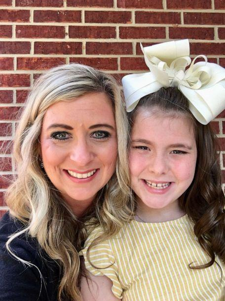 PHOTO: Baleigh Berry, 9,was born deaf and has bilateral cochlear implants to partially restore her hearing, mom Shena Berry told 'GMA.' Here in this recent photo, Baleigh poses with her mother, Shena Berry of Louisiana. (Shena Berry)