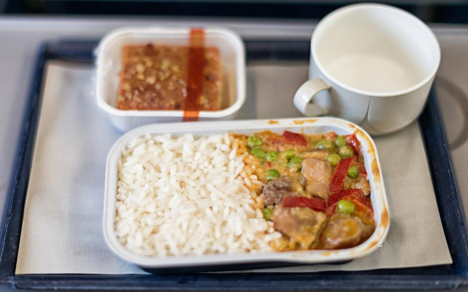 "<p>Airplane food has a bad reputation, but the food itself isnt entirely to blamethe real fault lies with the plane. A 2015 Cornell University study, <a rel=""nofollow"" href=""http://time.com/3893141/airline-food-airplane/"">reported by <em>Time</em></a>, found that the environment inside an airplane actually alters the way food and drink tastessweet items tasted less sweet, while salty flavors were heightened. The dry recycled air inside the plane cabin doesnt help either as low humidity can further dull taste and smell making everything in a plane seem bland. According to a 2010 study from the <a rel=""nofollow"" href=""http://www.ibp.fraunhofer.de/en.html"">Fraunhofer Institute for Building Physicsin</a> Germany, its about 30 percent more difficult to detect sweet and salty tastes when youre up in the air. Next time you fly, skip the meal, and maybe <a rel=""nofollow"" href=""http://www.travelandleisure.com/travel-tips/airlines-airports/why-tomato-juice-tastes-better-on-airplane"">try a glass of tomato juice</a> instead.</p>"