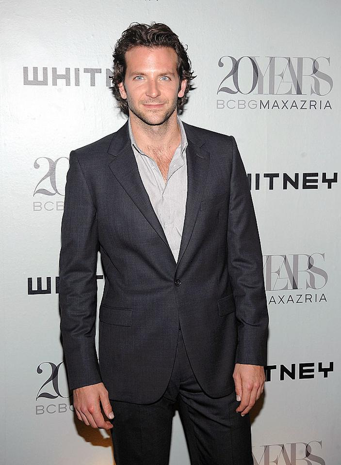 """Hangover"" hottie Bradley Cooper arrived in style at the 2009 Whitney Contemporaries Art Party and Auction at Skylight in New York City. Jamie McCarthy/<a href=""http://www.wireimage.com"" target=""new"">WireImage.com</a> - June 17, 2009"
