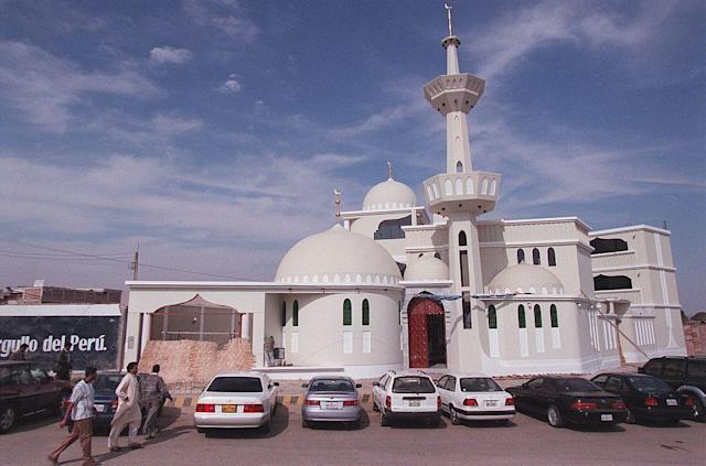 <b>TACNA, PERU:</b> A mosque in Tacna, Peru. The city is home to a large number of Pakistani families.