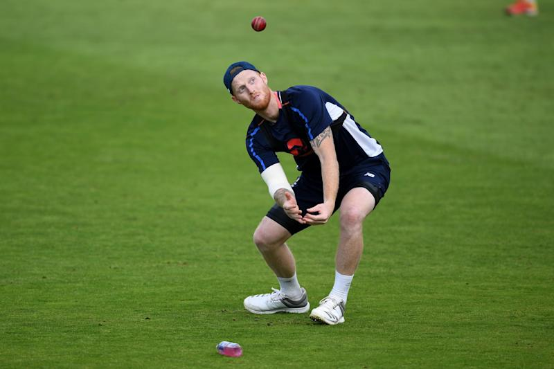On duty again: Ben Stokes returns to the England fold after being found not guilty of affray: Getty Images