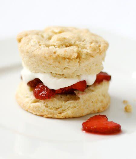 "<a href=""https://www.loveandoliveoil.com/2010/05/strawberry-shortcake-with-cream-biscuits.html"" rel=""nofollow noopener"" target=""_blank"" data-ylk=""slk:Strawberry Shortcake With Cream Biscuits from Love &amp; Olive Oil"" class=""link rapid-noclick-resp""><strong>Strawberry Shortcake With Cream Biscuits from Love &amp; Olive Oil</strong></a>"