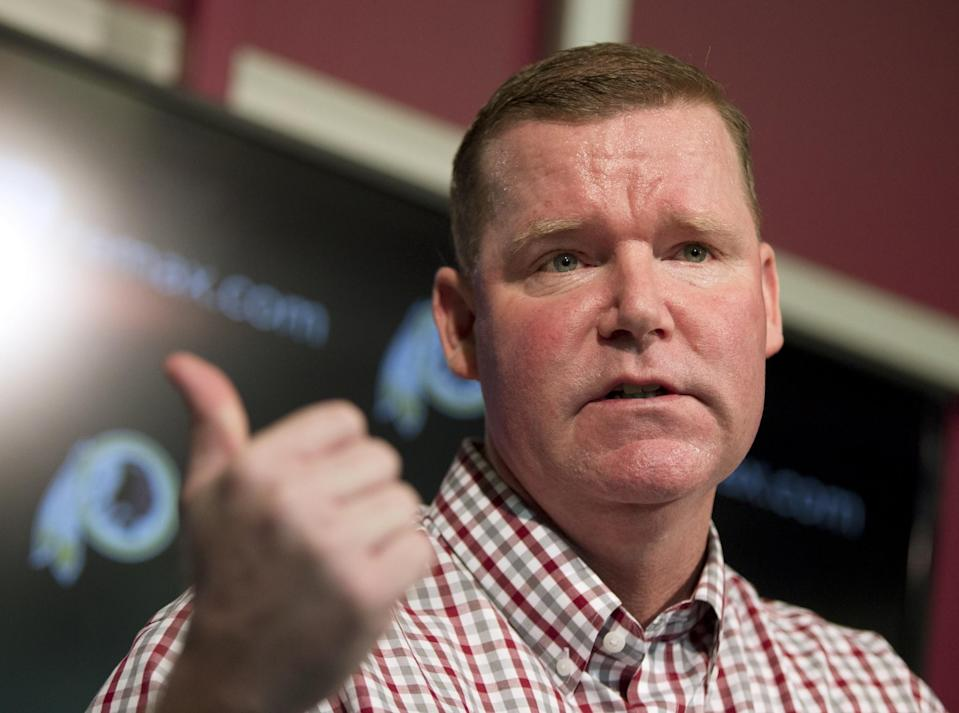 Scot McCloughan was fired as Washington's general manager on Thursday. (AP)