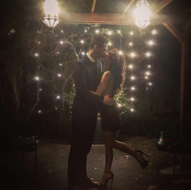 "<p>The <em>Modern Family</em> star and <em>Bachelorette</em> alum Wells Adams are spending their first Valentine's Day together, and the actress is having all the feels. ""Find someone who makes you laugh, who gives you butterflies every time they walk in a room, who supports you and recognizes your worth. Someone that sees you at your best when you think you're at your worst. A partner and a best friend that encourages you to take those risks and pursue your dreams. Happy Valentine's Day @wellsadams,"" she posted. (Photo: <a href=""https://www.instagram.com/p/BfLl0aXl-Ib/?taken-by=sarahhyland"" rel=""nofollow noopener"" target=""_blank"" data-ylk=""slk:Sarah Hyland via Instagram"" class=""link rapid-noclick-resp"">Sarah Hyland via Instagram</a>) </p>"
