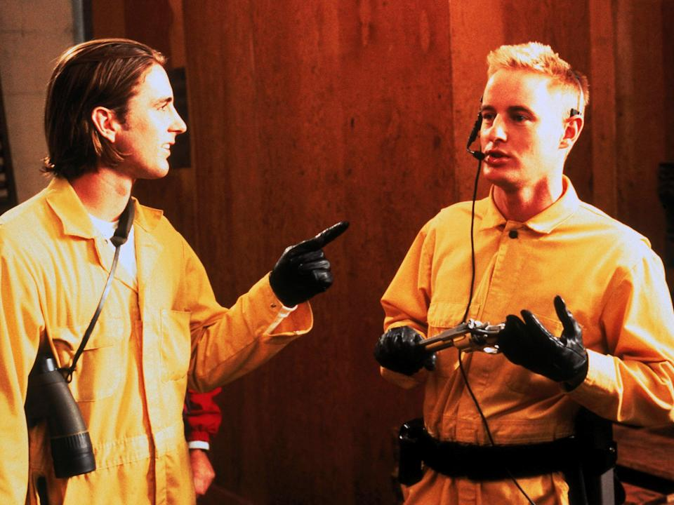 The Wilson brothers play incompetent would-be robbers in 'Bottle Rocket'Rex