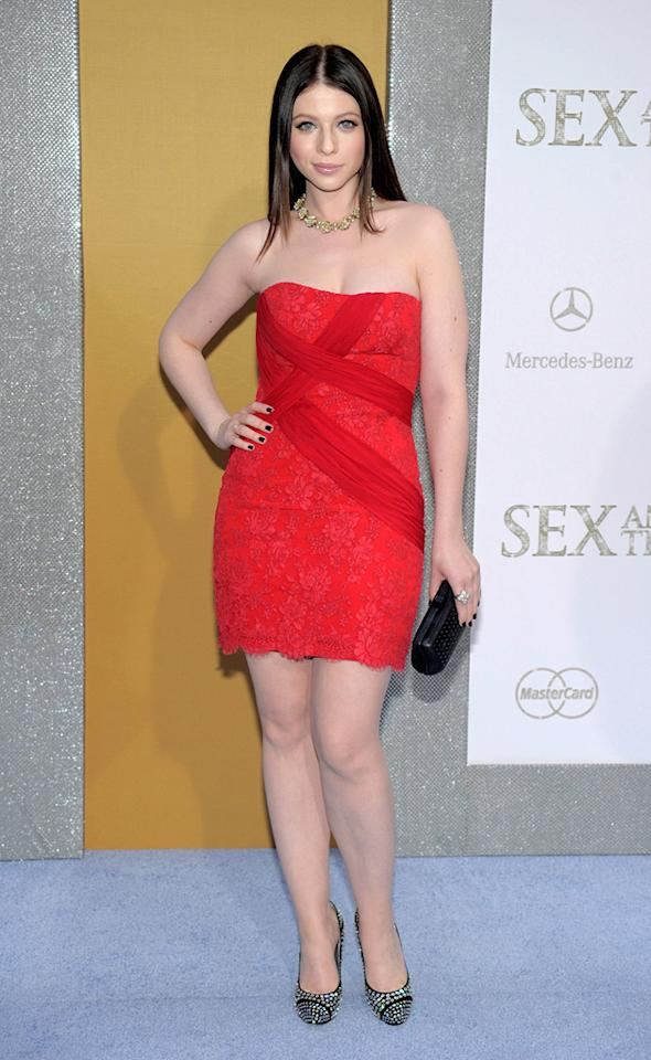 """<a href=""""http://movies.yahoo.com/movie/contributor/1800019074"""">Michelle Trachtenberg</a> at the New York City premiere of <a href=""""http://movies.yahoo.com/movie/1810111276/info"""">Sex and the City 2</a> - 05/24/2010"""