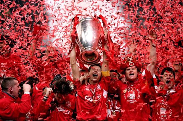<p>2005: Liverpool 3 Milan 3. The Champions League Final was one-way traffic in the first half as Milan traced into a 3-0 lead. Inspired by Steven Gerrard, Liverpool rallied back to 3-3 before becoming champions of Europe on penalties </p>
