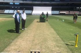 When the MCG pitch was so bad that the Sheffield Shield match had to be suspended