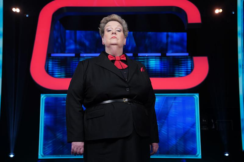 Pictured: Anne 'The Governess' Hegerty. (ITV)