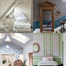"""<p>Wallpaper can be one of the simplest and most cost-effective ways to transform your home, and with innovations in <a href=""""https://www.countryliving.com/uk/country-living-products/a36159478/country-living-wallpaper-collection-homebase/"""" rel=""""nofollow noopener"""" target=""""_blank"""" data-ylk=""""slk:paste-the-wall wallpaper"""" class=""""link rapid-noclick-resp"""">paste-the-wall wallpaper</a>, it can even be a quick DIY project. It does not have to be confined to four walls however, there are myriad ways to utilise wallpaper to create areas of interest, accentuate the height of a room, or to mimic the look of panelling or tiles. </p><p>Wallpapering behind a bed creates a cosy zoning effect, murals can be used for great swathes of interest in large living rooms, and it makes a great alternative to <a href=""""https://www.countryliving.com/uk/homes-interiors/interiors/a35330887/happy-paint-colours/"""" rel=""""nofollow noopener"""" target=""""_blank"""" data-ylk=""""slk:paint"""" class=""""link rapid-noclick-resp"""">paint</a> when creating a feature wall or to highlight architectural features like alcoves or a chimney breast. </p><p>Cast your eye around the areas in your home where wallpaper is less frequently used, like the kitchen or bathroom, these are great opportunities to introduce colour and pattern in an unexpected way.</p><p>Read on for 21 clever wallpaper ideas you may never have thought about, and get some inspiration for your next home update. </p>"""