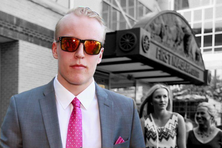 BUFFALO, NY - JUNE 24: NHL draft prospect Patrik Laine arrives at First Niagara Center prior to round one of the 2016 NHL Draft on June 24, 2016 in Buffalo, New York. (Photo by Jeff Vinnick/NHLI via Getty Images)