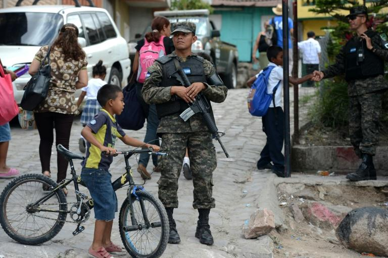 Thousands of members of various gangs control neighborhoods in the main cities of Honduras, where they frequently exchange fire in turf wars for territory in the drug and weapons trades