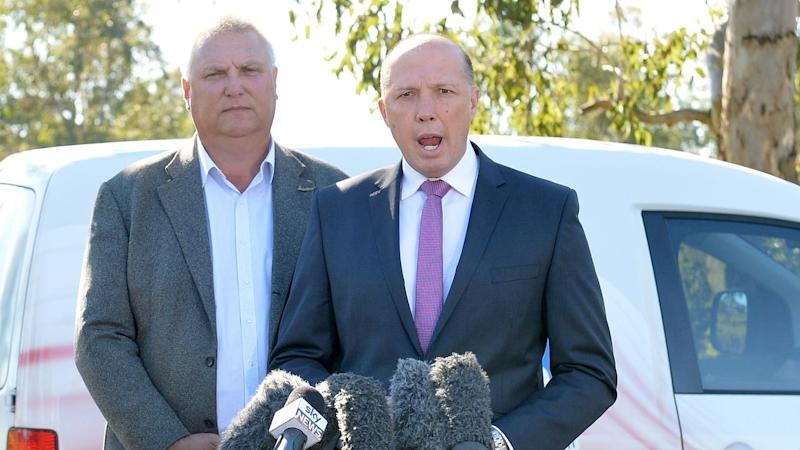 Home Affairs Minister Peter Dutton has new powers to beef up security for infrastructure projects