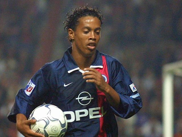 Manchester United were interested in Ronaldinho when the playmaker was at PSG