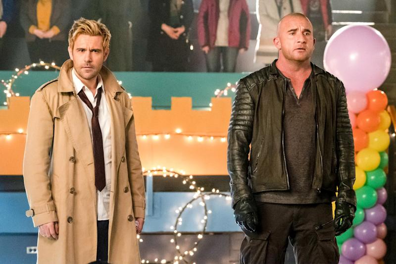Legends of Tomorrow finale recap: The power of song (and love) compels you!