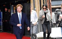 <p>With removal vans being spotted outside Meghan's Toronto home and her appearance doing a bit of shopping on London's King's Road, an engagement announcement seemed imminent.<br><i>[Photo: Getty/The Mega Agency]</i> </p>
